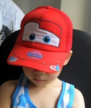 Car Baby Boys red color Baseball Caps kids hat wholesale 5 pcs/lot