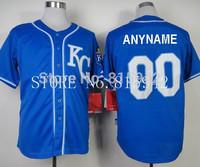 Customized Kansas City Royals Personalized baseball jerseys cheap custom made