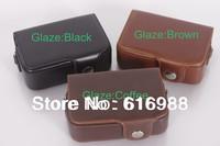 Wholesale!camera bag imitation leather case for Sony HX5 HX7 HX30 HX10 H55 RX100 HX9 WX300 camera bag/case Free shipping