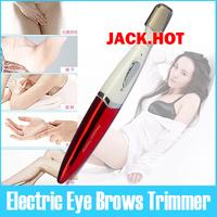 Lady Girl Wet Dry Electric Eyebrows Trimmer Bikini Underarms Legs Body 0.25-EEBT01R