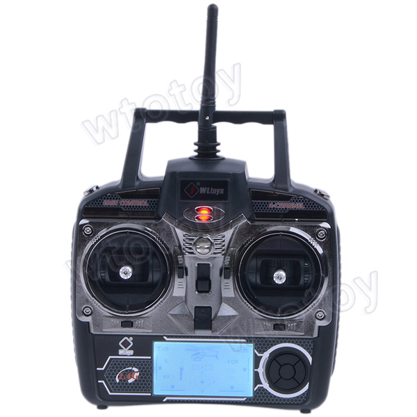 "4Ch 2.7"" LCD Transmitter/ Controller Set Parts For WLToys V911 V912 V929 V939 V949 RC Helicopter  18650"