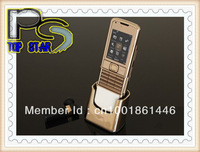 Good Quality Unlocked new 8800 Gold Arte unlocked phone English/Russian Keyboard