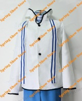 DEVIL SURVIVOR 2  Kuze Hibiki White Rabbit Version Hoodie Jacket Anime Cosplay Costume
