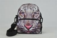 Free Shipping Tiger Printing Waist Bag Shoulder Bag Messenger bag BBP110W