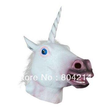 Magical Unicorn Mask Halloween Costume