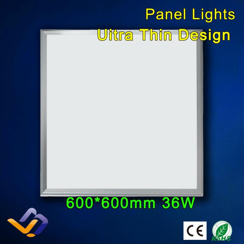 Piazza della lampada a led spie del pannello led 600*600* 9 mm plafoniere led e luce rohs ce 36w 3000k 6500k bianco freddo bianco caldo