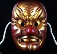 Resin Japanese Noh drama masks Buddhism mask masquerade masks Party mask Family decoration Personal collection