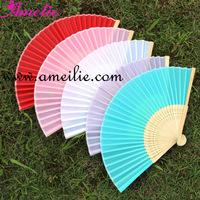 Silk Wedding Hand Fans Wholesale