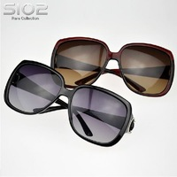 Sio2 women sun glasses lady's sunglasses large fashion sunglasses mirror  female