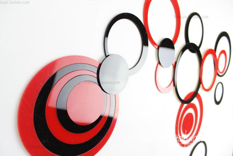 Muurstickers Slaapkamer 3d : 3D Wall Art Stickers