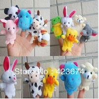 Free shipping Baby puppet toy 10pcs/lot,Finger Puppets,Hand Puppets,Kids Puppets,Finger doll, Baby toys Hot Sale