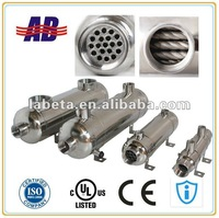 CE Approved Stainless Steel 316L Engine Oil Cooler EC160-E