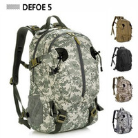 Male outdoor  Camouflage  female waterproof mountaineering  hiking travel  tactical man  40l  backpack bag advanced tactical