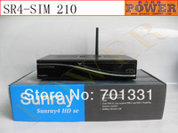 Free shopping to Russia Digital satellite tv receiver dvb-s2 Sunray800 se SR4 sunray sr4 triple tuner, sunray 800se DVB-S/C/T