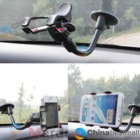 Rotating 360 Degree Universal Car Holder Windshield Mount Bracket for Iphone plus 6 5 5S 4s 4 S5 S4 GPS Mobile Phone Holder