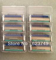 Free Shipping high Quality Men's Brand Turbo Razor Blades M3 T 8S (8pcs/lot) US&RU&Euro Best Quality
