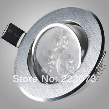 3W led ceiling light  AC85-265V high power high qalit