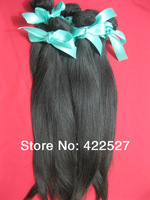 freeshipping 3pcs/lot queen hair products virgin Indain hair remy human hair extension high quality AAAAA+ natural straight hair