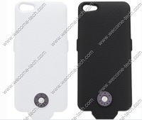 20pcs per lot with DHL/EMS free shipping for battery case for iphone 5, power case, backup case for iphone 5