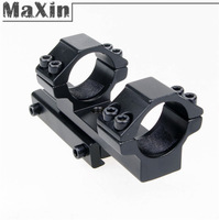 "New 25.4mm 1"" ring Extended One Piece Dovetail Rail 11mm Mount Fit For Rifle/Scope Hunting Free Shipping"