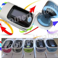 wholesale-2013 new arrival version finger pulse oximeter oxgyen monitor SPO2 PR OLED waveform 6 display modes beep arlam