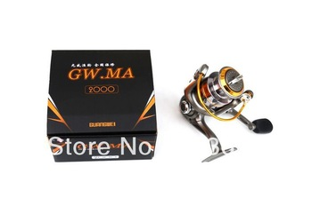 Free shipping Y26  GUANGWEI gwma-4000  5BB+1RB  5.14:1  spinning reel fishing reels lure free shipping