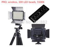 5pcs Lot LED Light YN-300 yn300 LED Video Light with 300 LED beads for C N Pent Pansonic SLR Cameras free shipping