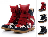 Newly Isabel Velcro Strap High-TOP Sneakers