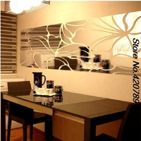 supernova sale 1*0.45m home improvement Acrylic 3d Wall Stickers living room sofas tv wall stickers mirror wall stickers