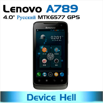 original Lenovo A789 unlocked Dual core MTK6577 russian spanish in stock Free shipping