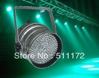 10 pcs 177 led beads  RGB LED Light PAR 64 DMX Lighting Projector Stage Party Show Disco 30W  led par 64 can Free shipping
