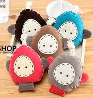 SC11 Free Shipping  2013 New Fashion Kawaii Kid Cartoon Key Wallets, Cotton Coin Purse , Child Gift