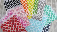 """treat bags 10000pcs Chevron Polka Dot Stripe Printed Paper Bags in Printed Paper party Treat Bags  Bakery Bags 5""""x 7"""" / 13x18cm"""