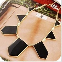 hot fashion big promotion black irregular choker necklace Free Shipping HeHuanXL256