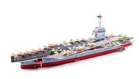 Free shipping ZILIPOO 3D Puzzle Military Model Toy/Aircraft Carrier, Children's Safe Non-toxic Foam+Paper Model DIY Jigsaw   363