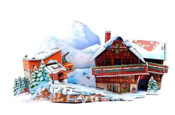 Puzzle Jouet / Ski Resort