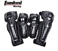 Free Shipping! T602 motorcycle / SUV / Racing Knee / Elbow Pads / Protective Gear / Accessories Black