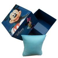 Children Cartoon Watch Gift Box Hello Kitty & Mickey & Minnie & Snow White & Spongebob & Bowknot & Lazy Town Paper Packing,BW001