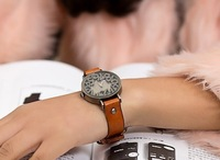 New Arrival Punk Series Watches,Antique Real Leather Watches Alloy Case 100% Excellent  (Free shipping )