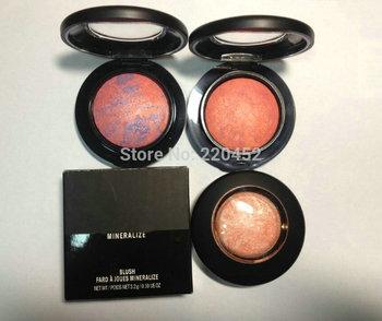 1 pcs/lot New 9colors MINERALIZE blush 3.2g! free shipping !!!