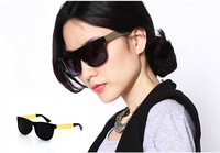 Retail  Retro sunglasses Gold Fashion Eyewear classic sunglasses Unisex sunglasses 4colors