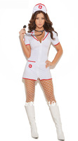Sexy Head Nurse Costume, Nurse Costumes and Sexy Halloween Costumes (Stockings and stethoscope not included.)