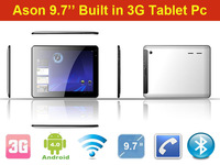 Free shipping 9.7''IPS screen Phone Call Tablet PC/MID,ANDROID 4.0, 1.2GHz, 1GB RAM,16GB, Camera, Wi-Fi, internal 3G,