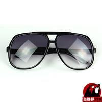 Luxury packaging box Ultra-black sunglasses women brand designer 2014 Nerd glasses Free Shipping 18042YJ