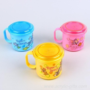 Free shipping lovely Tom & Jerry coffee mug cup with cover 3 colors