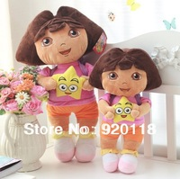 dora adventurous 35cm  dora doll/dora plush toy /child birthday gift / Soft Plush Dora the Explorer /toys for kids