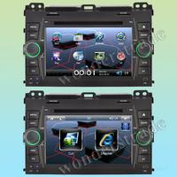 Car DVD Player GPS Navigation for TOYOTA PRADO 120 (2002-2009) LANDCRUISER Land Cruiser 120 (ARAB) + 3G internet Free Shipping