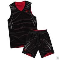 FREE SHIPPING new 2014 James basketball vest suit Take reversible mesh breathable garment of basketball training
