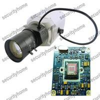 Mini SONY Super Real WDR 700TVL Effio-P CCD Box camera Vari-Focal 6-60mm Auto IRIS CS Lens CCTV Camera