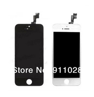 50pcs / lot , LCD Display touch screen with digitizer assembly replacement parts for iPhone 5C iPhone 5S , Free Shipping by DHL